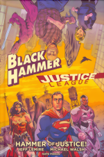 Black Hammer and Justice League_HC
