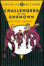 DC Archive Editions_Challengers Of The Unknown Archives_Vol. 1_HC
