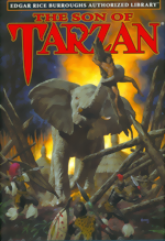 Son Of Tarzan_HC_ERB Authorized Library Vol. 4