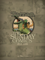Edgar Rice Burroughs Tarzan_The Sunday Comics_Vol. 2_1934-1935_HC