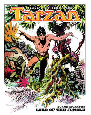 Tarzan: Burne Hogarth´s Lord Of The Jungle HC